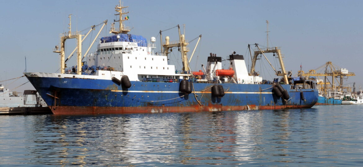 ship arrests in cameroon